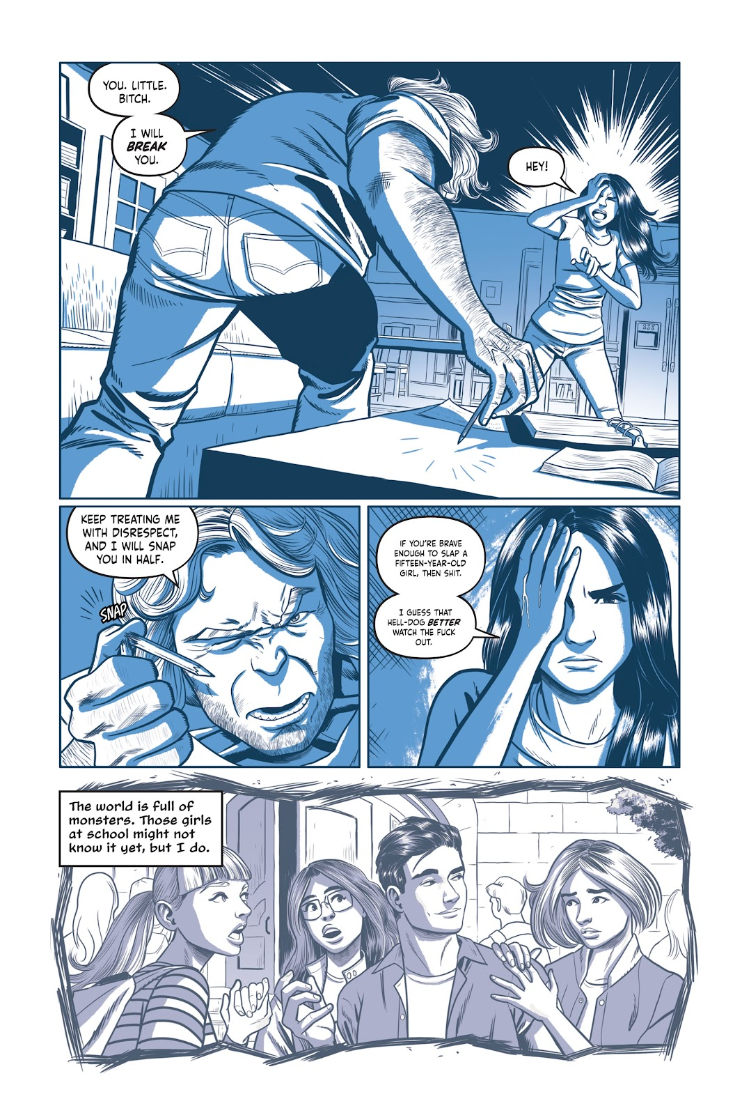 Read online Under the Moon: A Catwoman Tale comic -  Issue # TPB (Part 1) - 43