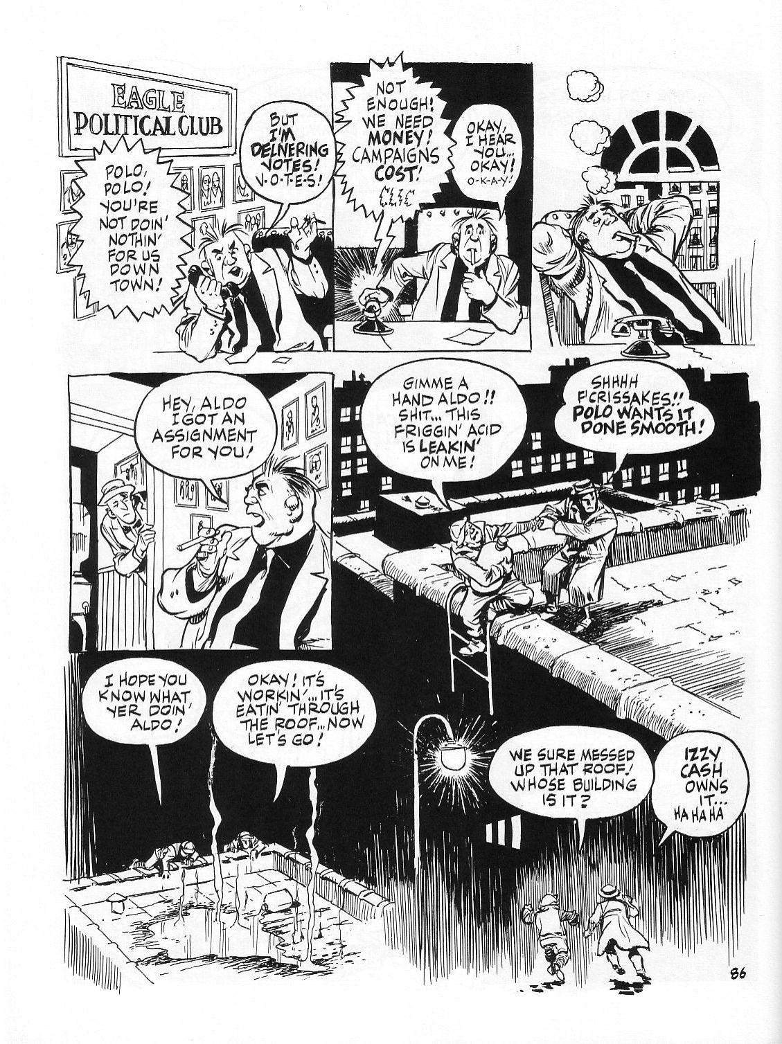 Read online Dropsie Avenue, The Neighborhood comic -  Issue # Full - 88