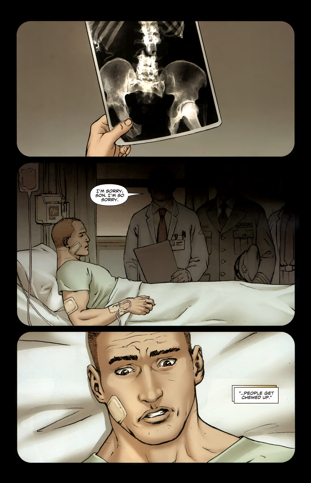 Read online Soldier Zero comic -  Issue #1 - 16