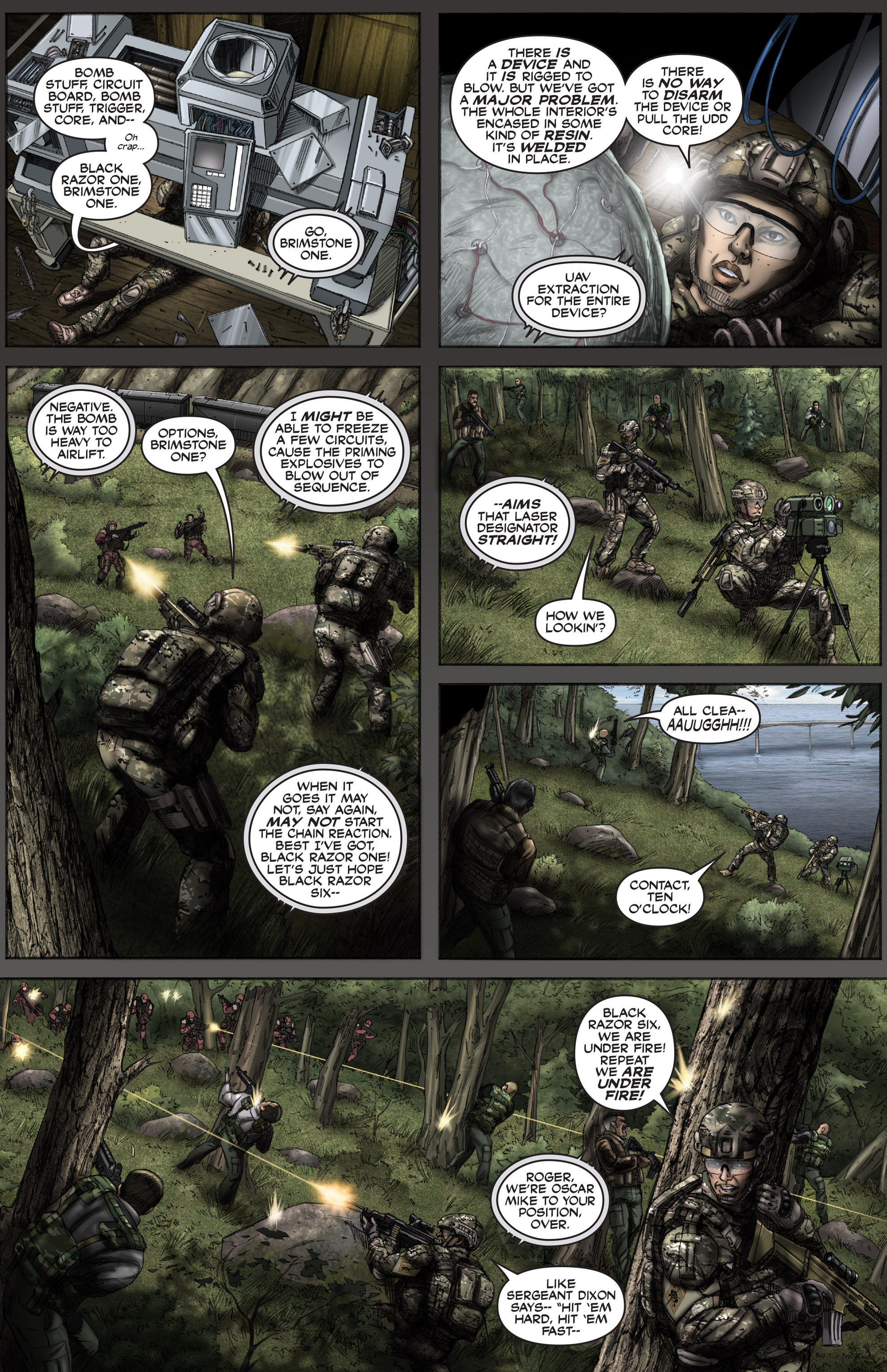 Read online America's Army comic -  Issue #12 - 18