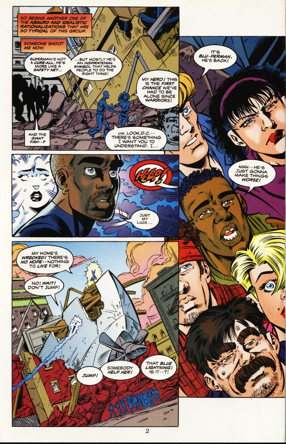 Read online Superboy & The Ravers comic -  Issue #9 - 3