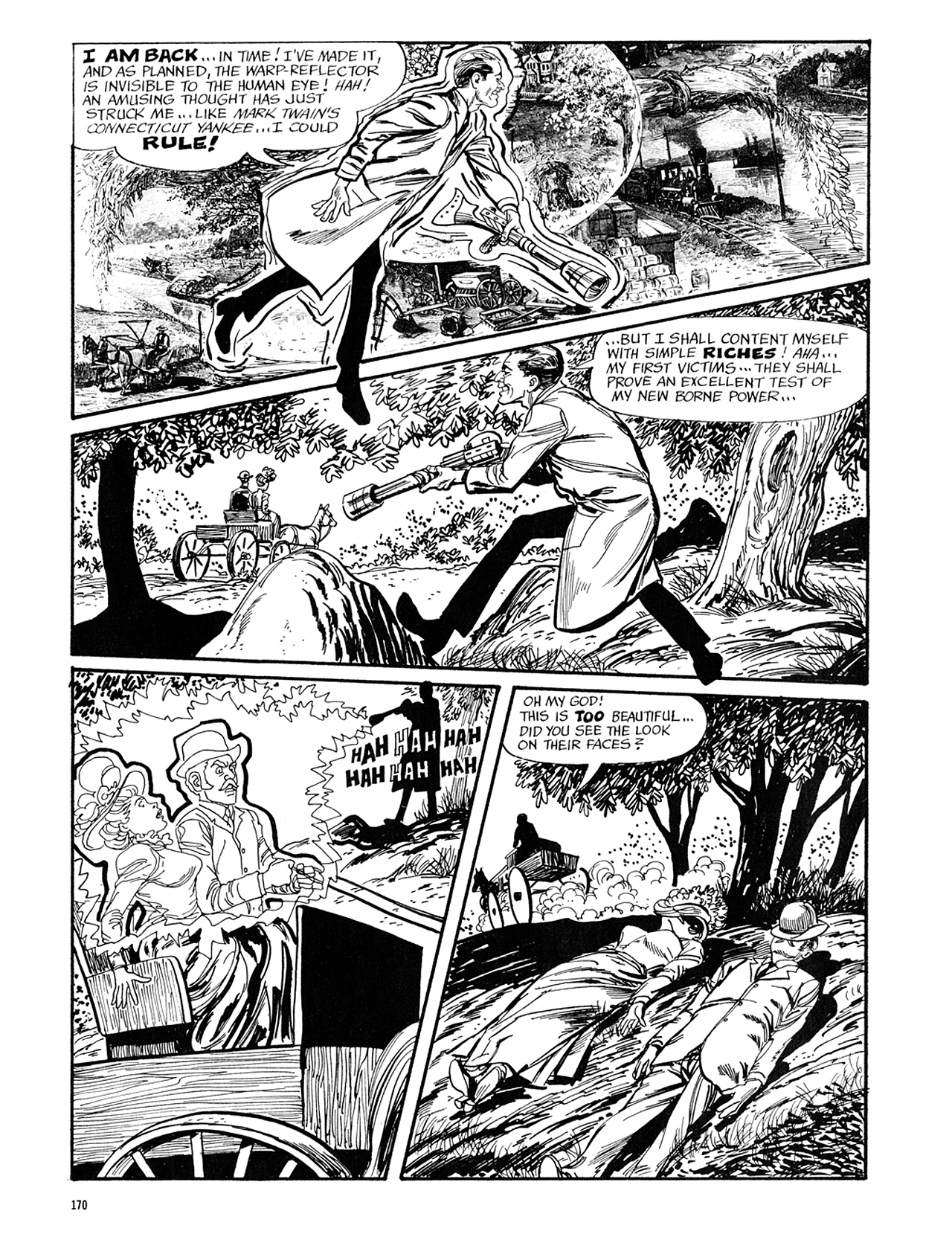 Read online Eerie Archives comic -  Issue # TPB 5 - 171