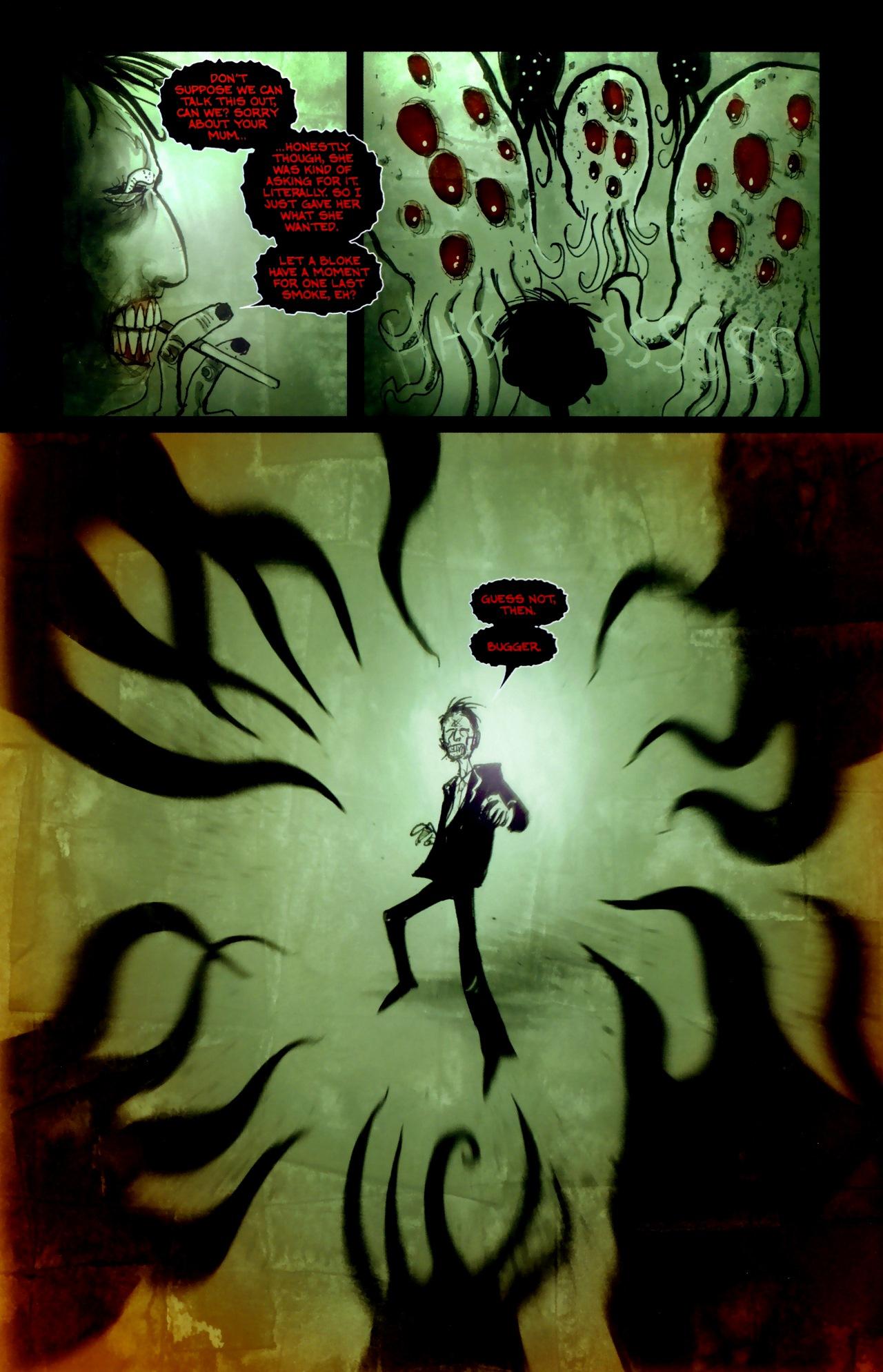 Read online Wormwood: Gentleman Corpse comic -  Issue #11 - 22