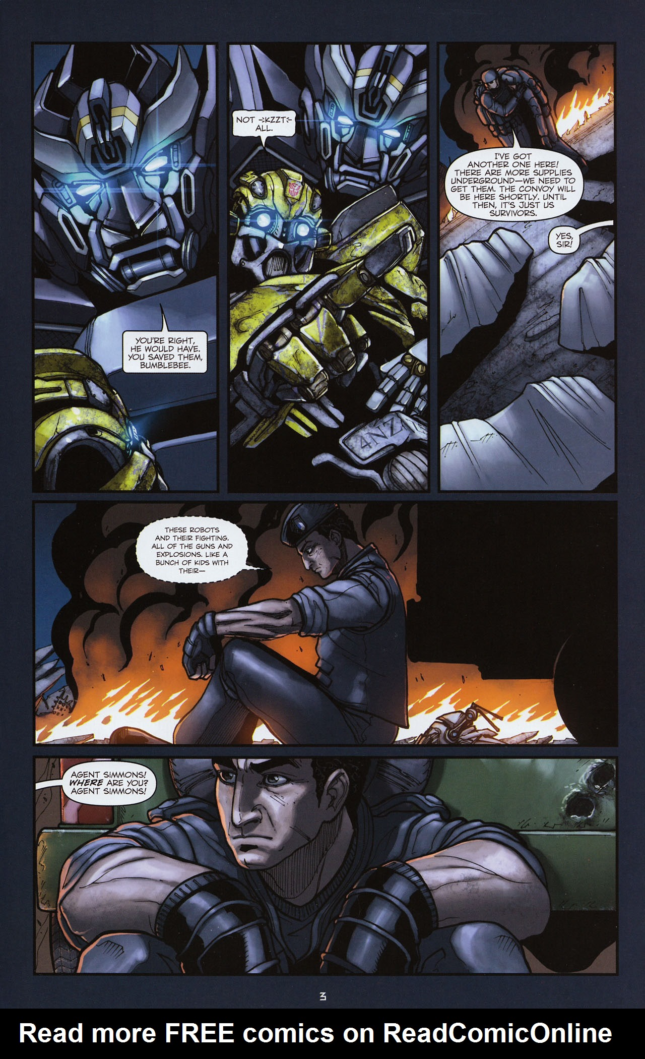 Read online Transformers: Alliance comic -  Issue #3 - 6