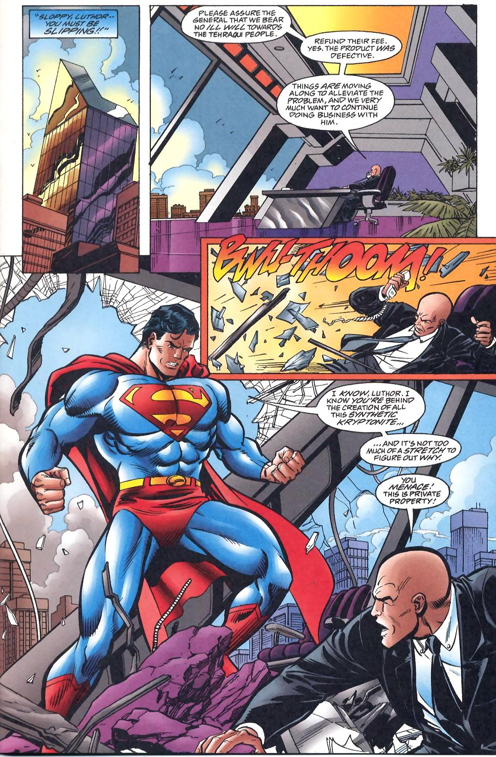 Read online Adventures of Superman (1987) comic -  Issue #566 - 13