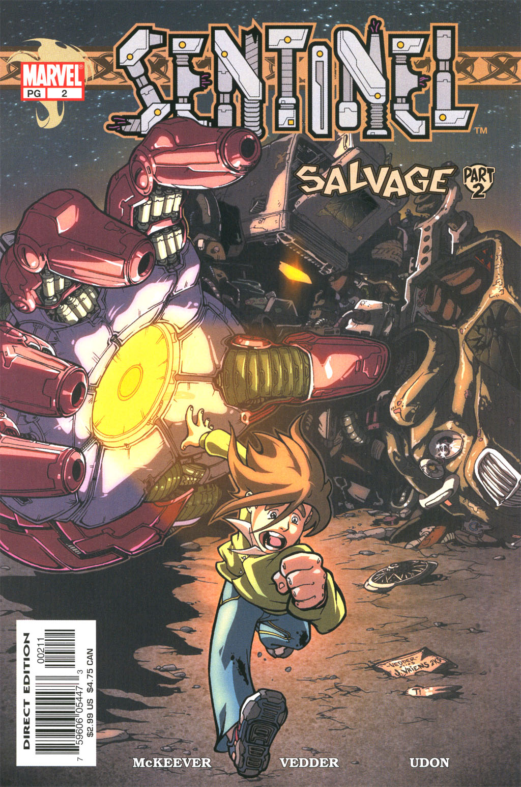 Read online Sentinel comic -  Issue #2 - 1