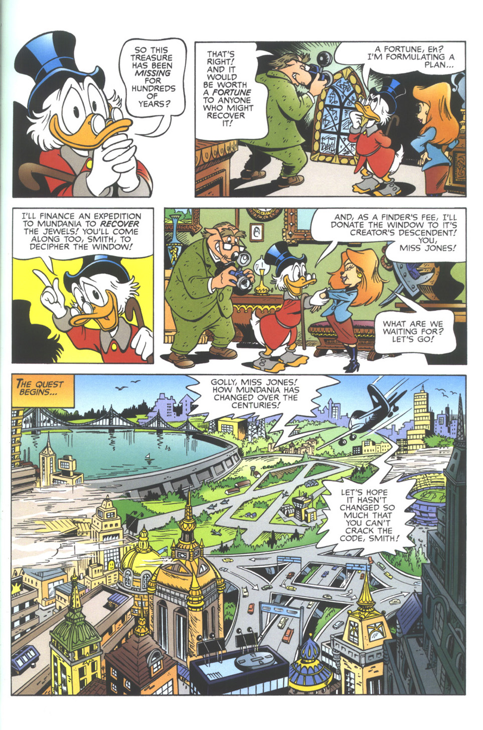 Read online Uncle Scrooge (1953) comic -  Issue #343 - 17