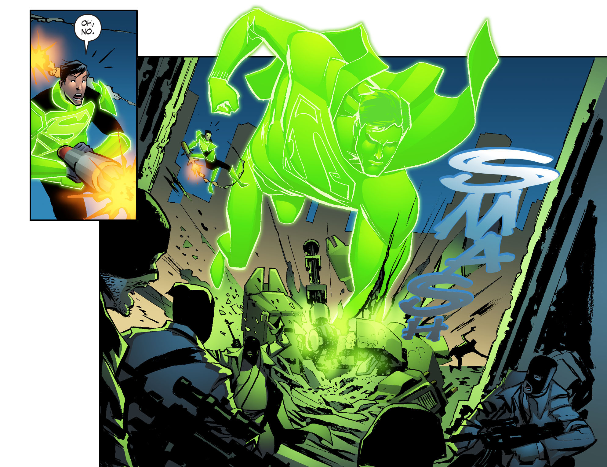 Read online Smallville: Lantern [I] comic -  Issue #2 - 20
