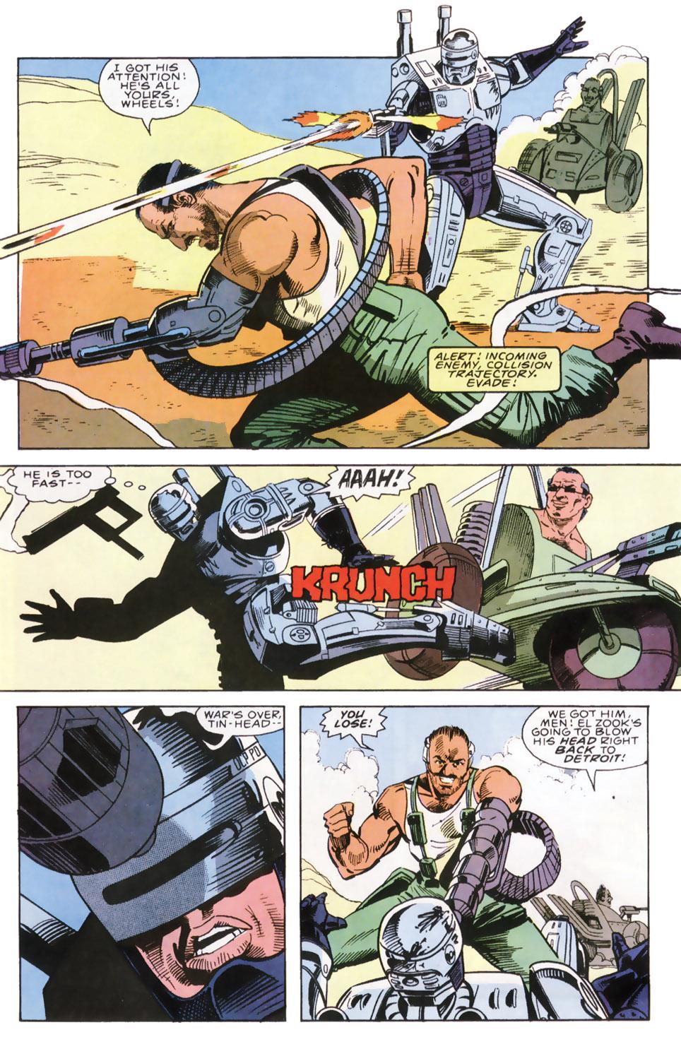 Read online Robocop (1990) comic -  Issue #6 - 14