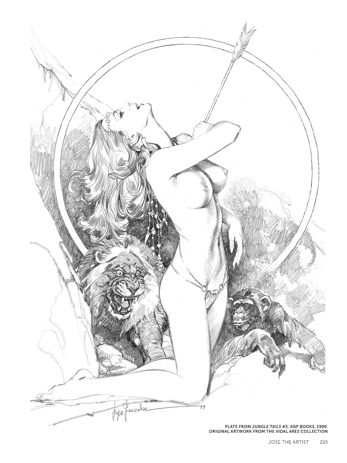 Read online The Art of Jose Gonzalez comic -  Issue # TPB (Part 3) - 18