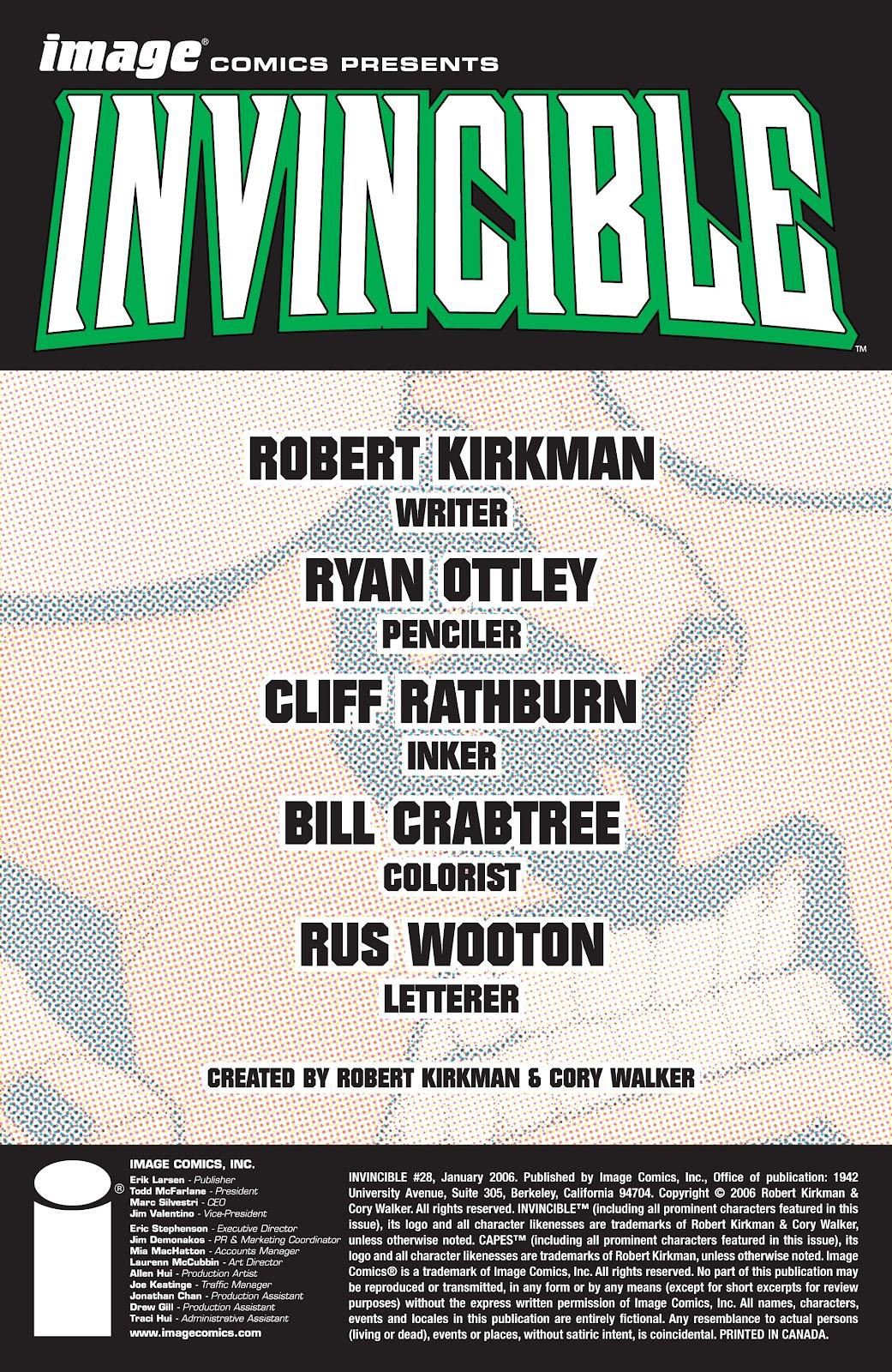 Invincible (2003) 28 Page 2