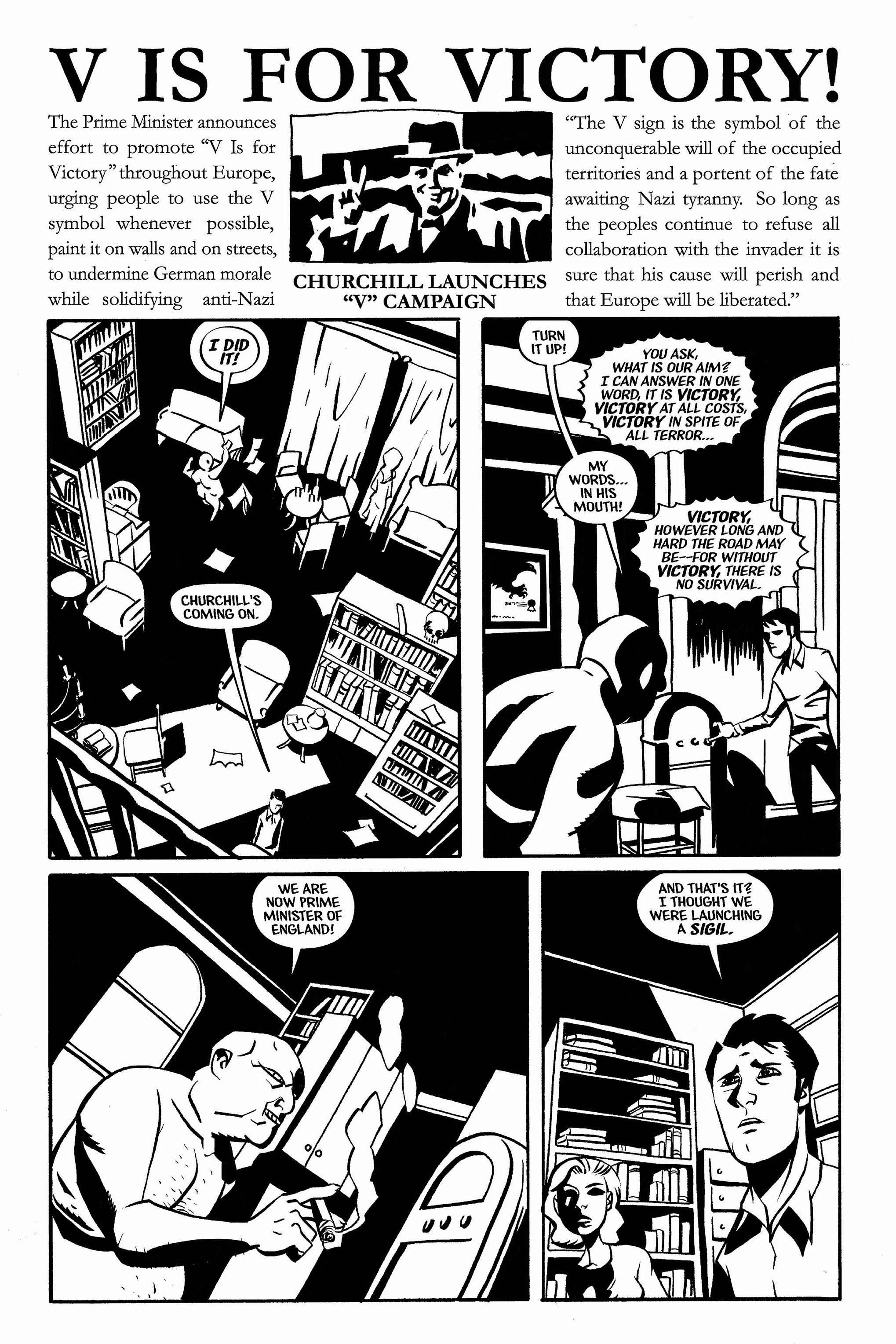 Read online Aleister & Adolf comic -  Issue # TPB - 53