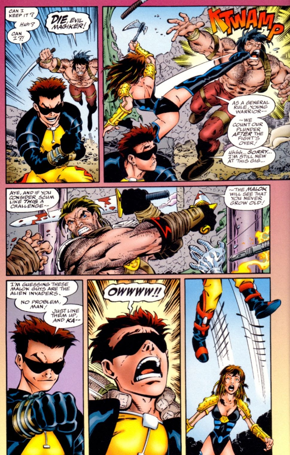 Read online Randy O'Donnell is The M@N comic -  Issue #1 - 20