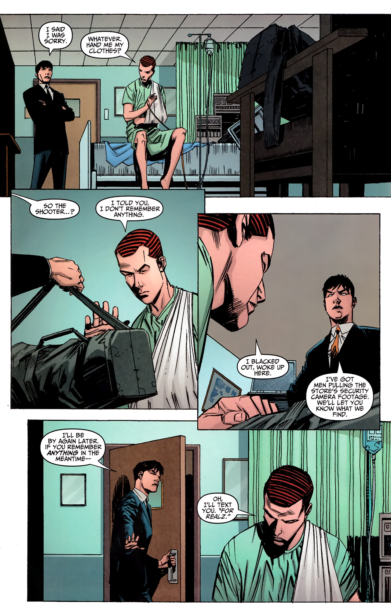 Read online Amazing Spider-Man Presents: American Son comic -  Issue #2 - 10