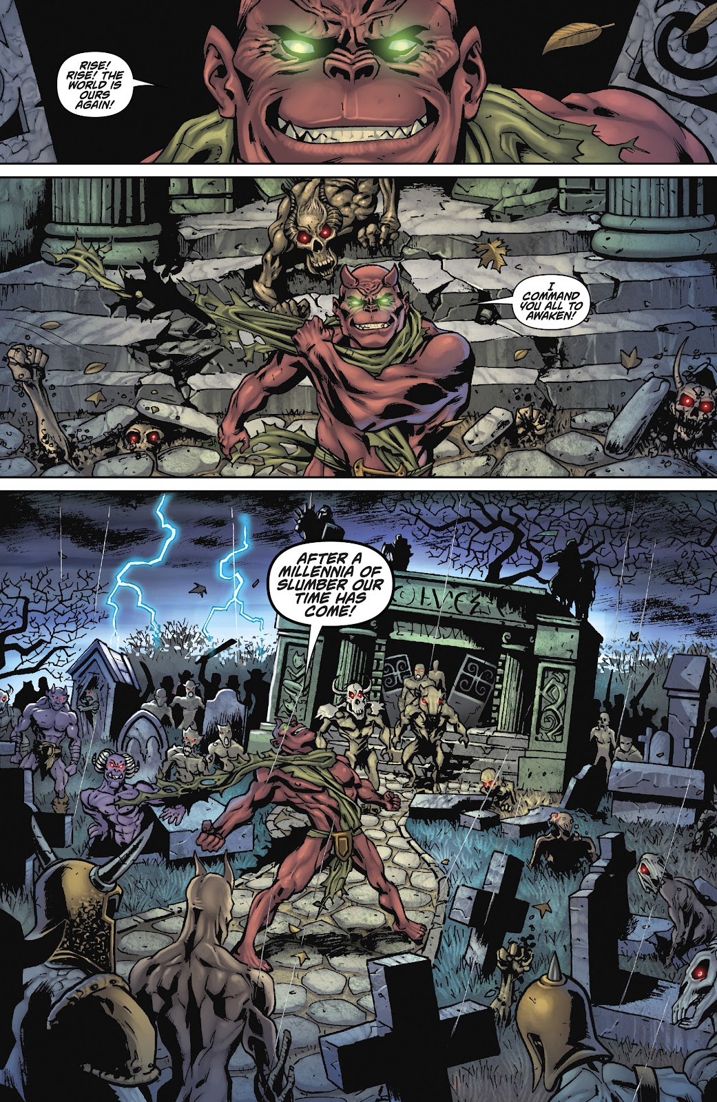 Army of Darkness: The Long Road Home issue TPB - Page 16