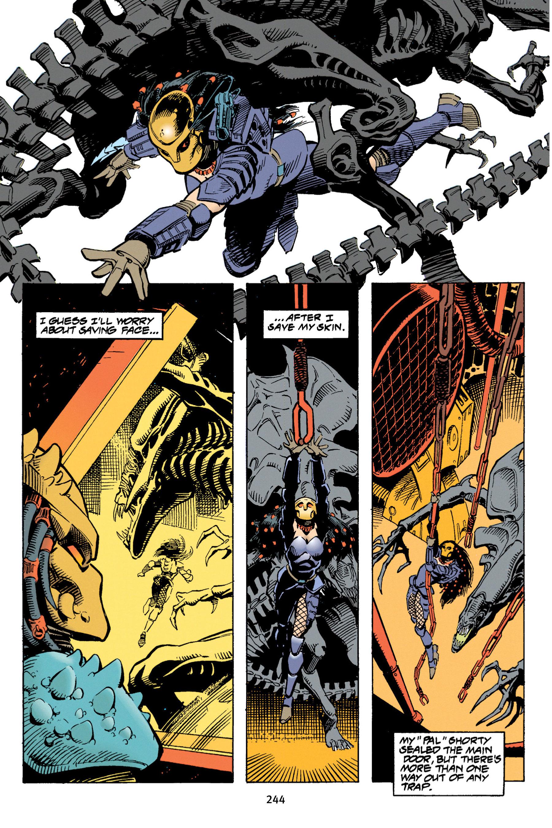 Read online Aliens vs. Predator Omnibus comic -  Issue # _TPB 1 Part 3 - 36