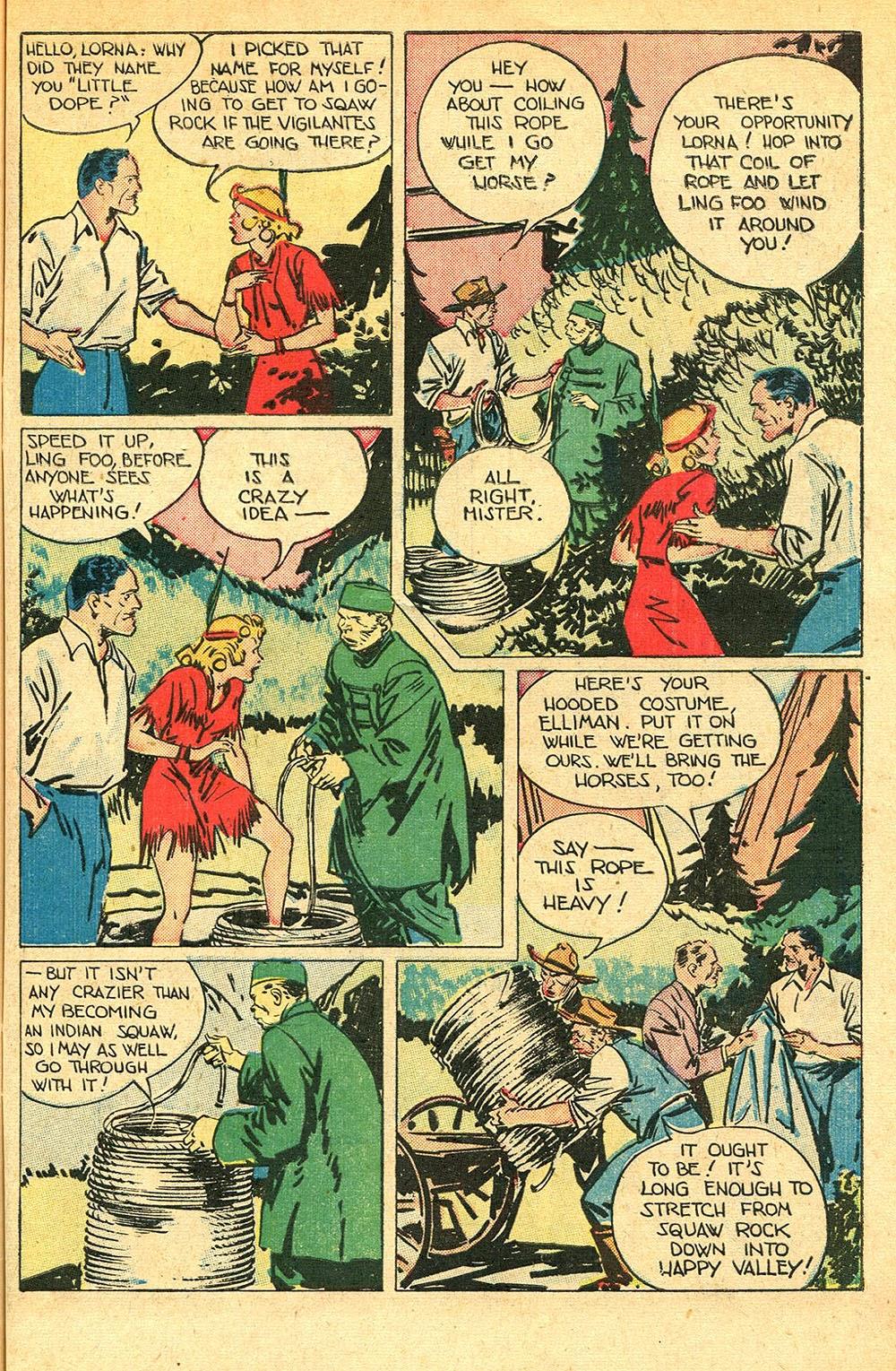 Read online Super-Magician Comics comic -  Issue #56 - 41