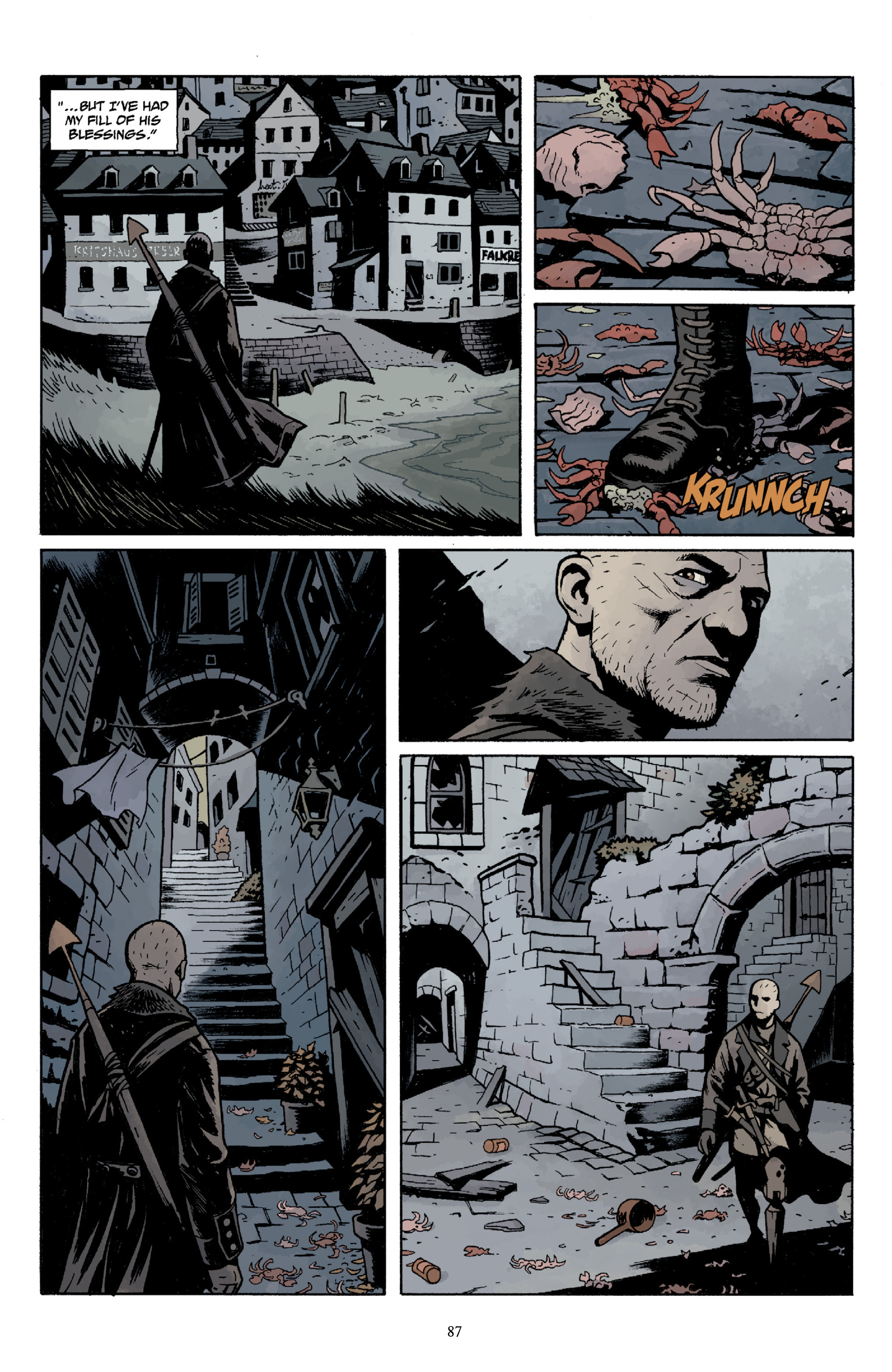 Read online Baltimore Volume 3: A Passing Stranger and Other Stories comic -  Issue # Full - 89