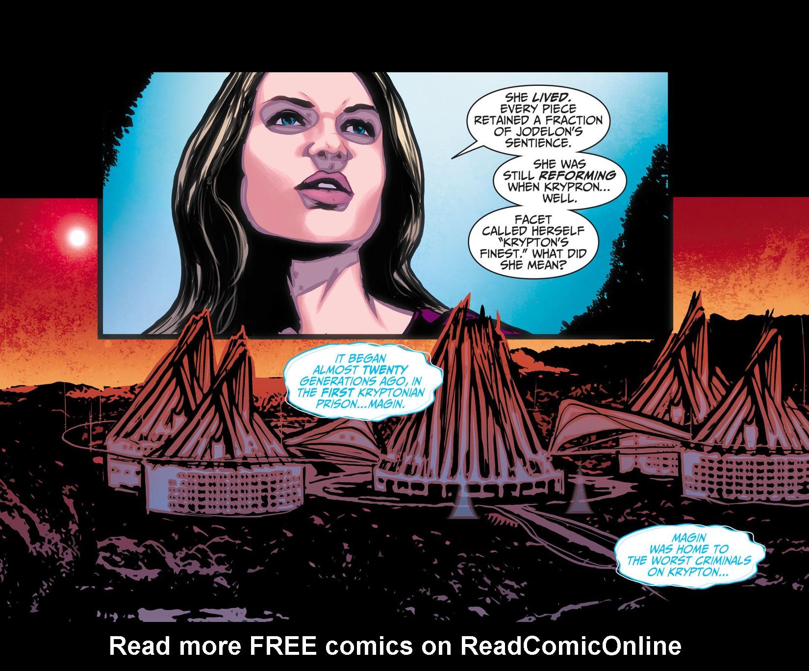 Read online Adventures of Supergirl comic -  Issue #10 - 10