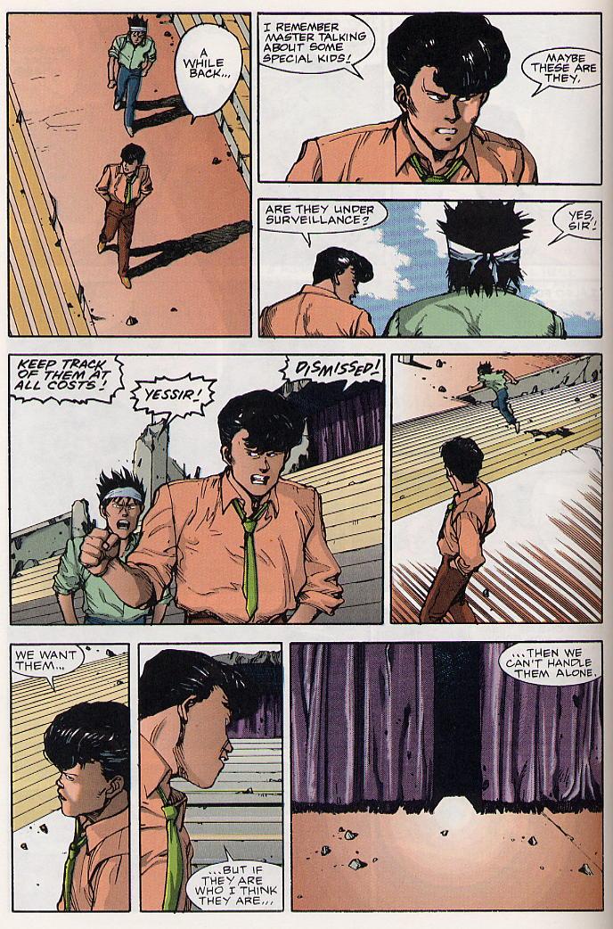 Read online Akira comic -  Issue #19 - 21