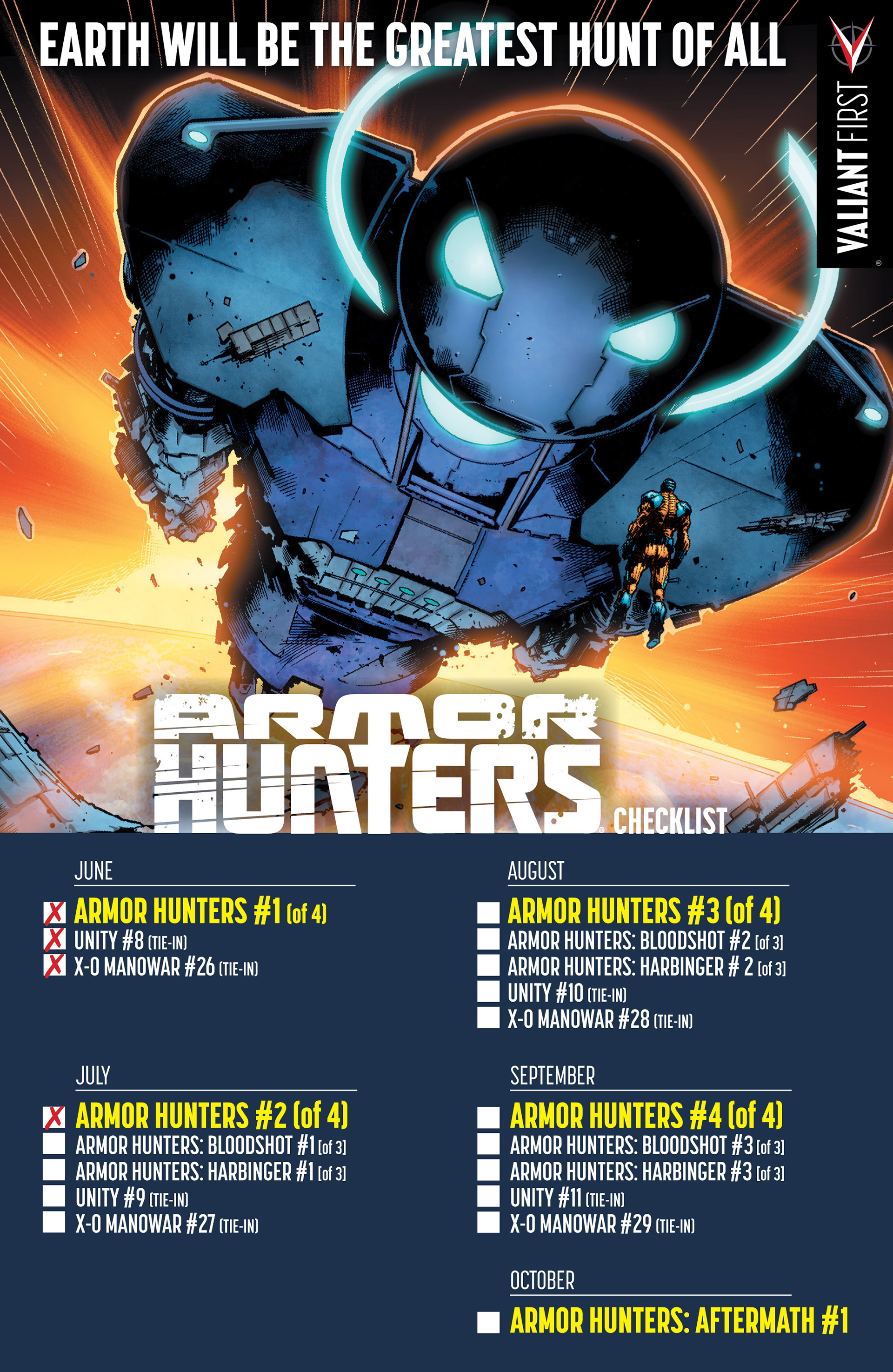 Read online Armor Hunters: Bloodshot comic -  Issue #1 - 36