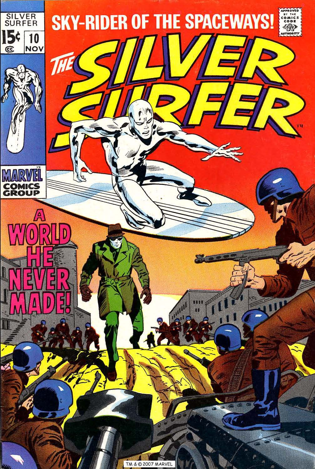 Read online Silver Surfer (1968) comic -  Issue #10 - 1