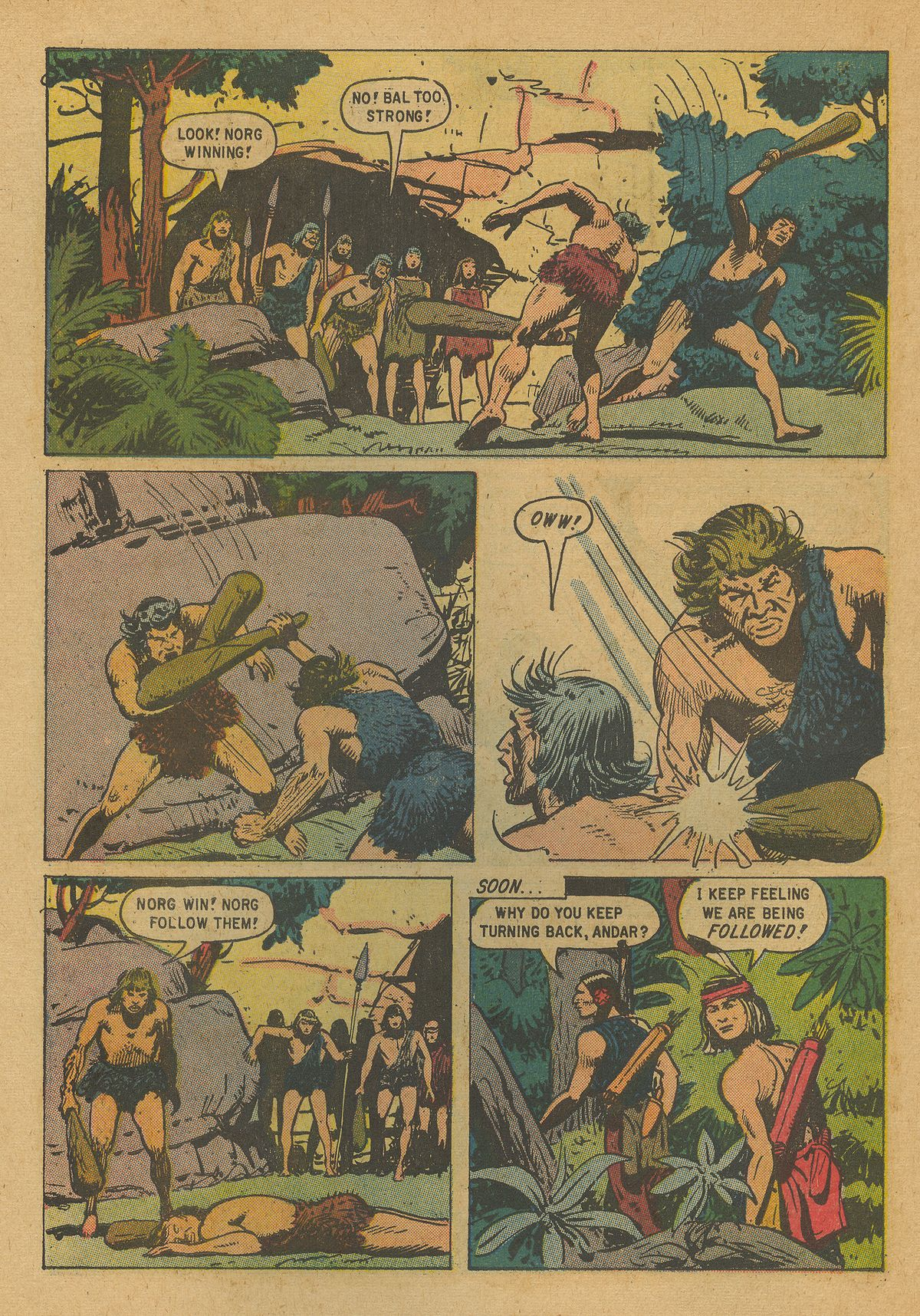 Read online Turok, Son of Stone comic -  Issue #19 - 6