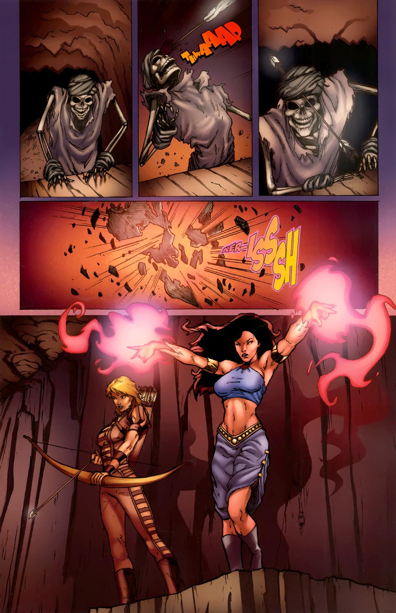 Read online 1001 Arabian Nights: The Adventures of Sinbad comic -  Issue #11 - 9