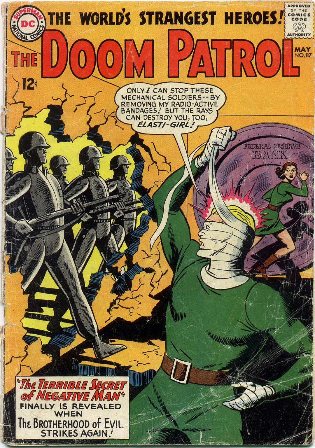 Doom Patrol (1964) 87 Page 1