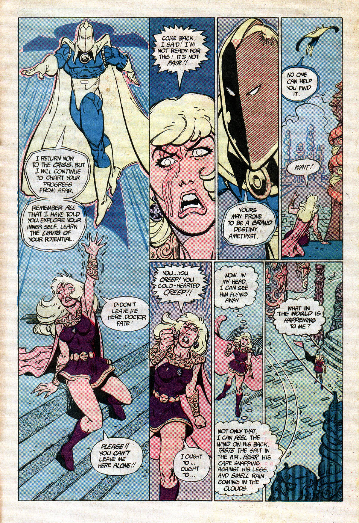 Read online Amethyst (1985) comic -  Issue #13 - 31