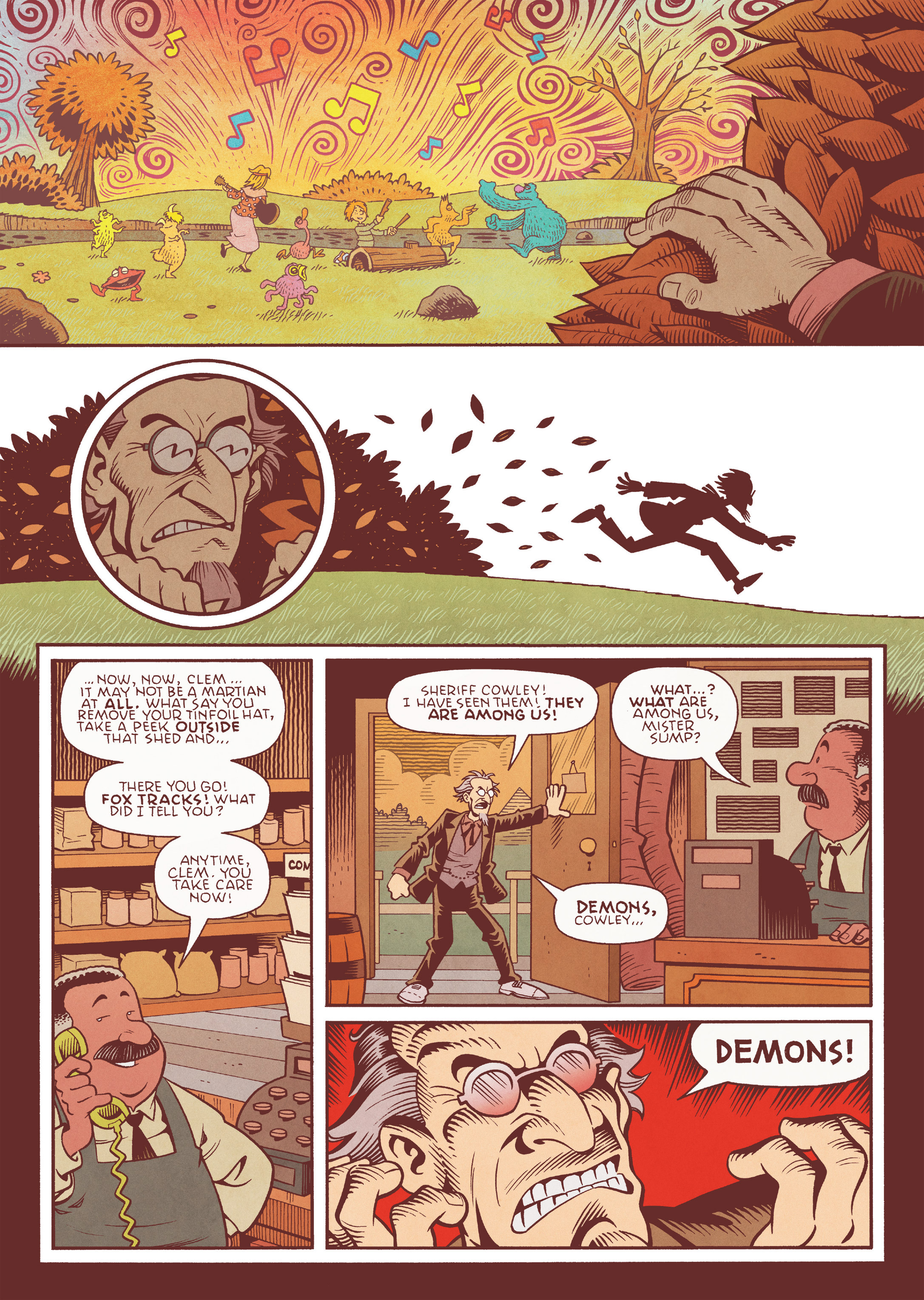 Read online Jim Henson's The Musical Monsters of Turkey Hollow comic -  Issue # Full - 48