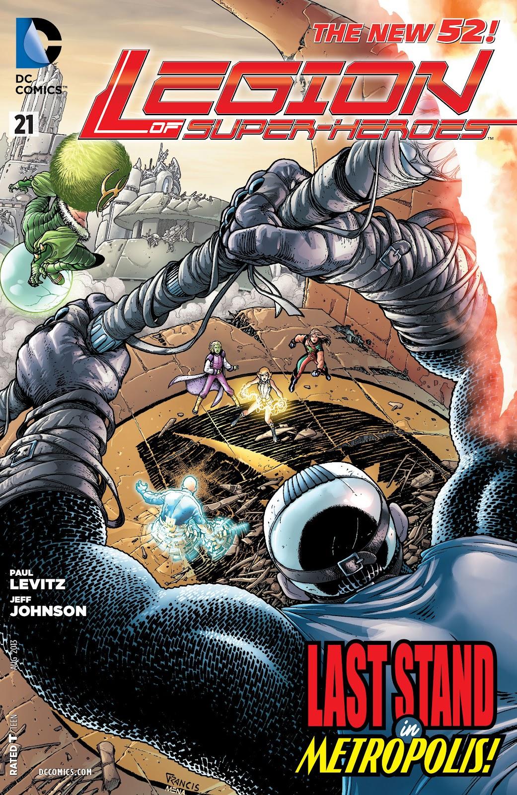 Legion of Super-Heroes (2011) Issue #21 #22 - English 1