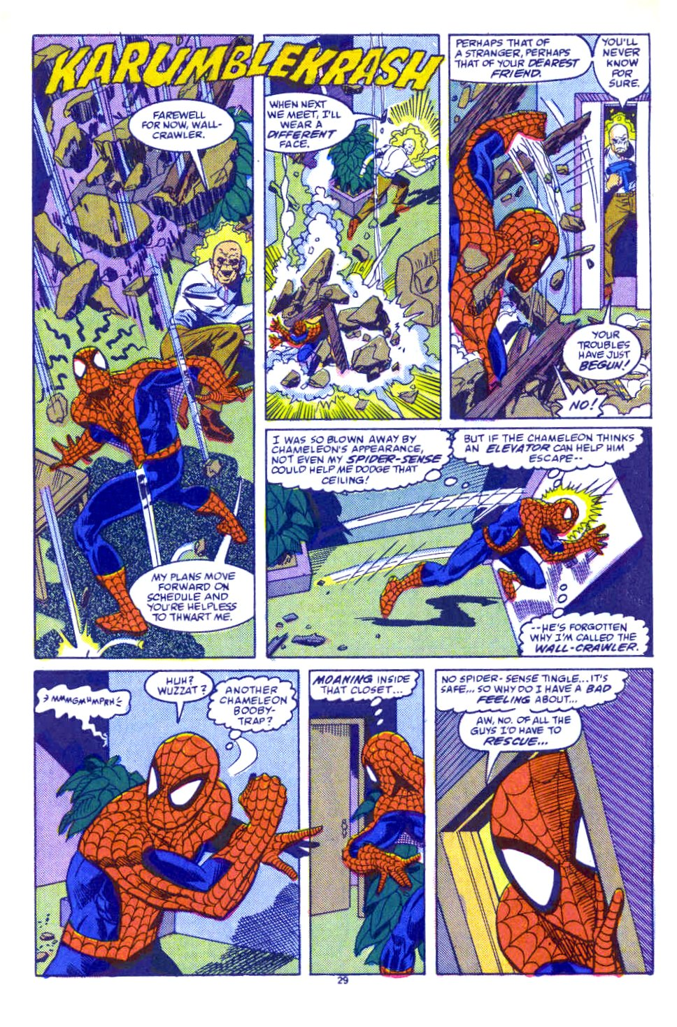 Web of Spider-Man (1985) Issue #54 #64 - English 22