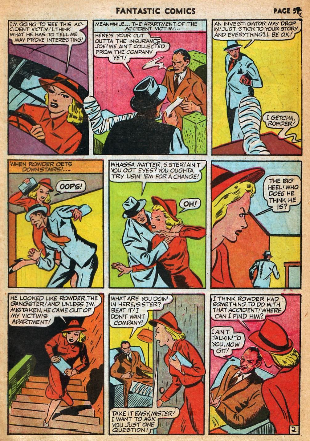 Read online Fantastic Comics comic -  Issue #22 - 60