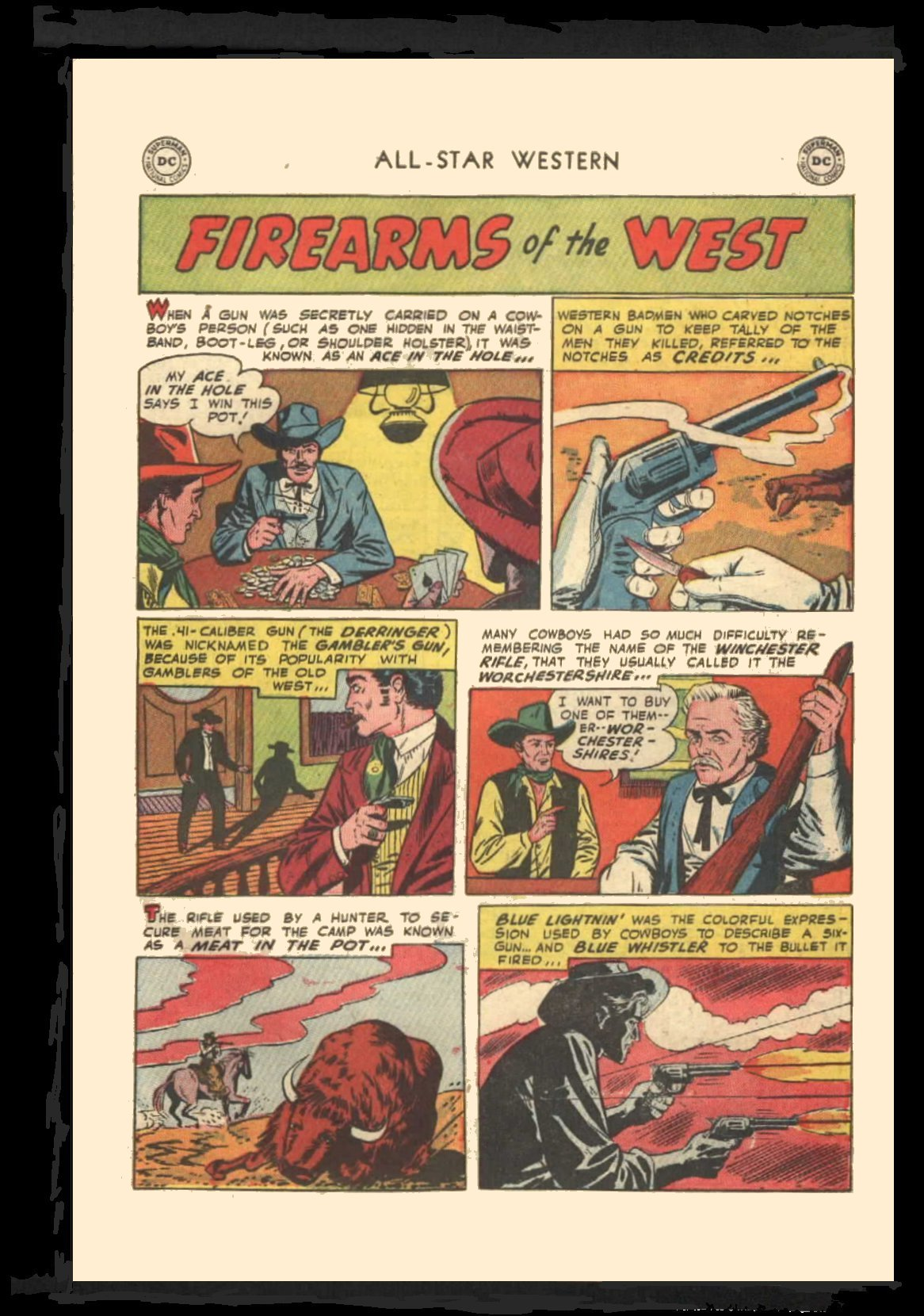 Read online All-Star Western (1951) comic -  Issue #72 - 27