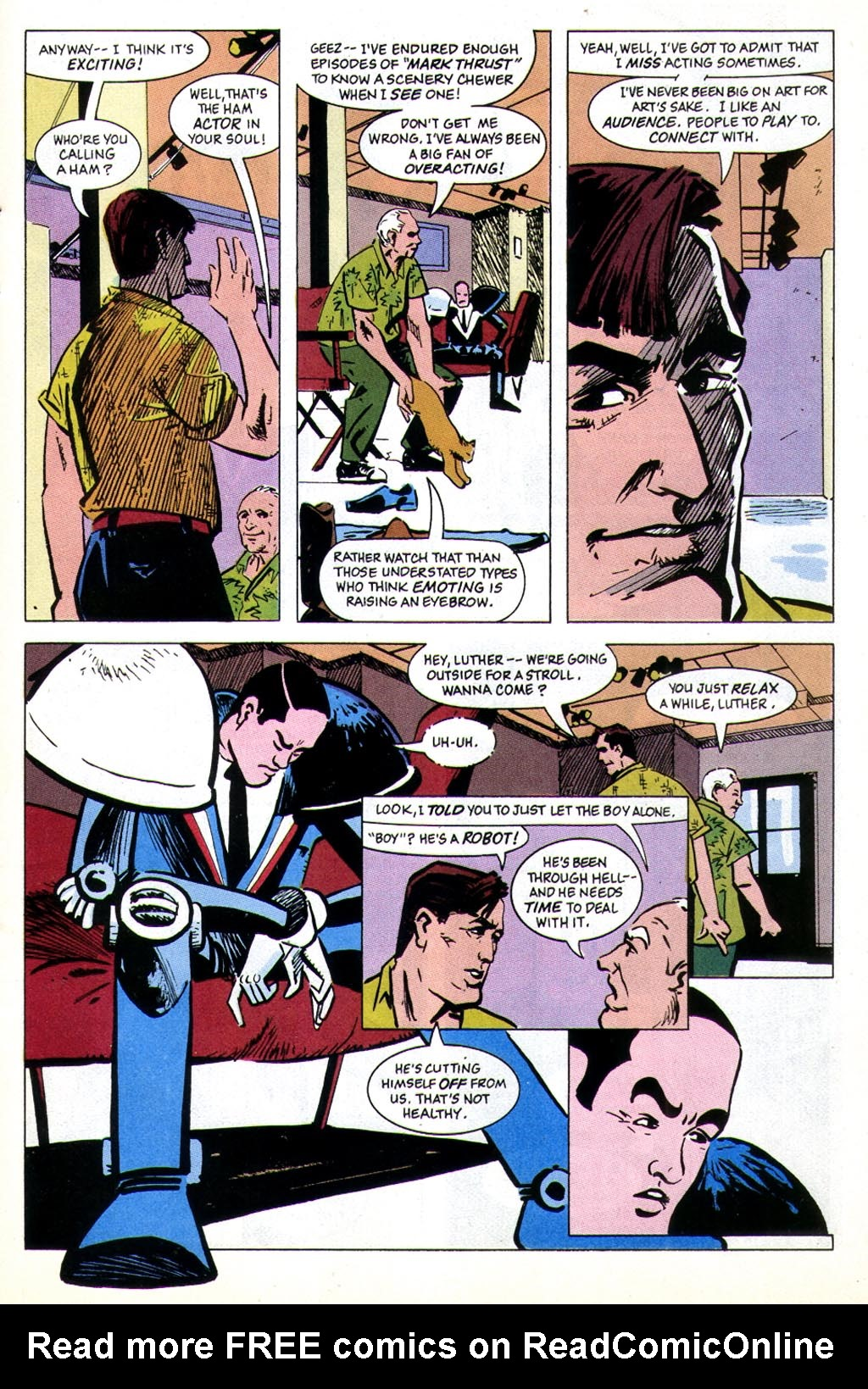 Read online American Flagg! comic -  Issue #43 - 5