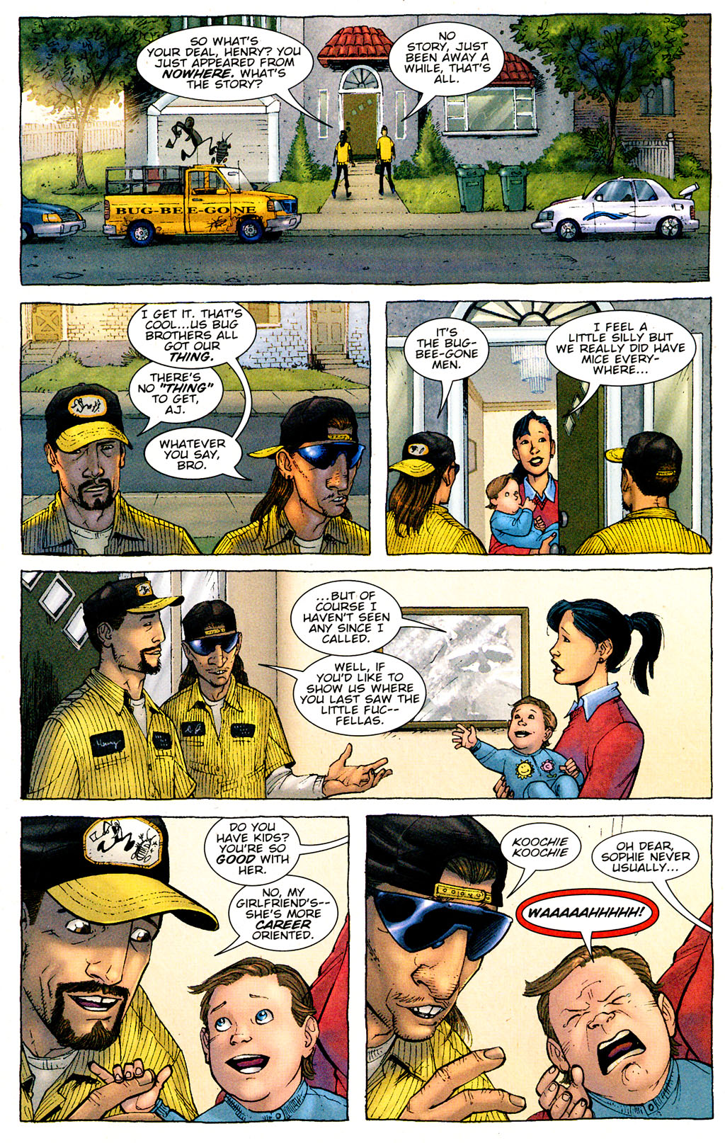 Read online The Exterminators comic -  Issue #1 - 10