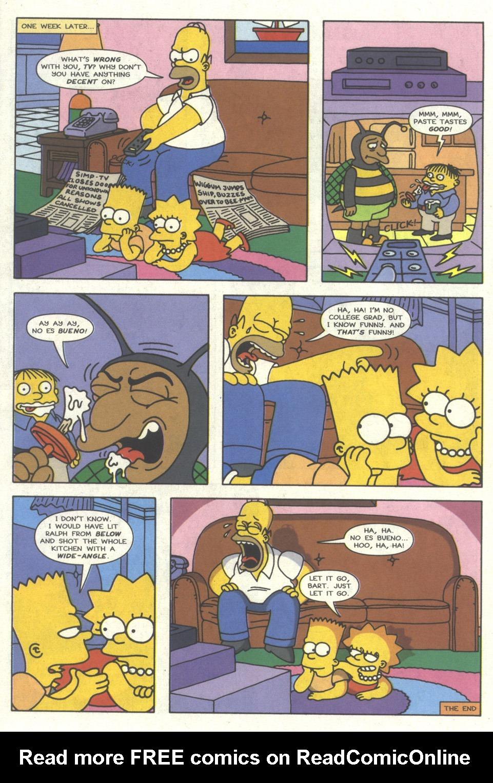 Read online Simpsons Comics comic -  Issue #17 - 21