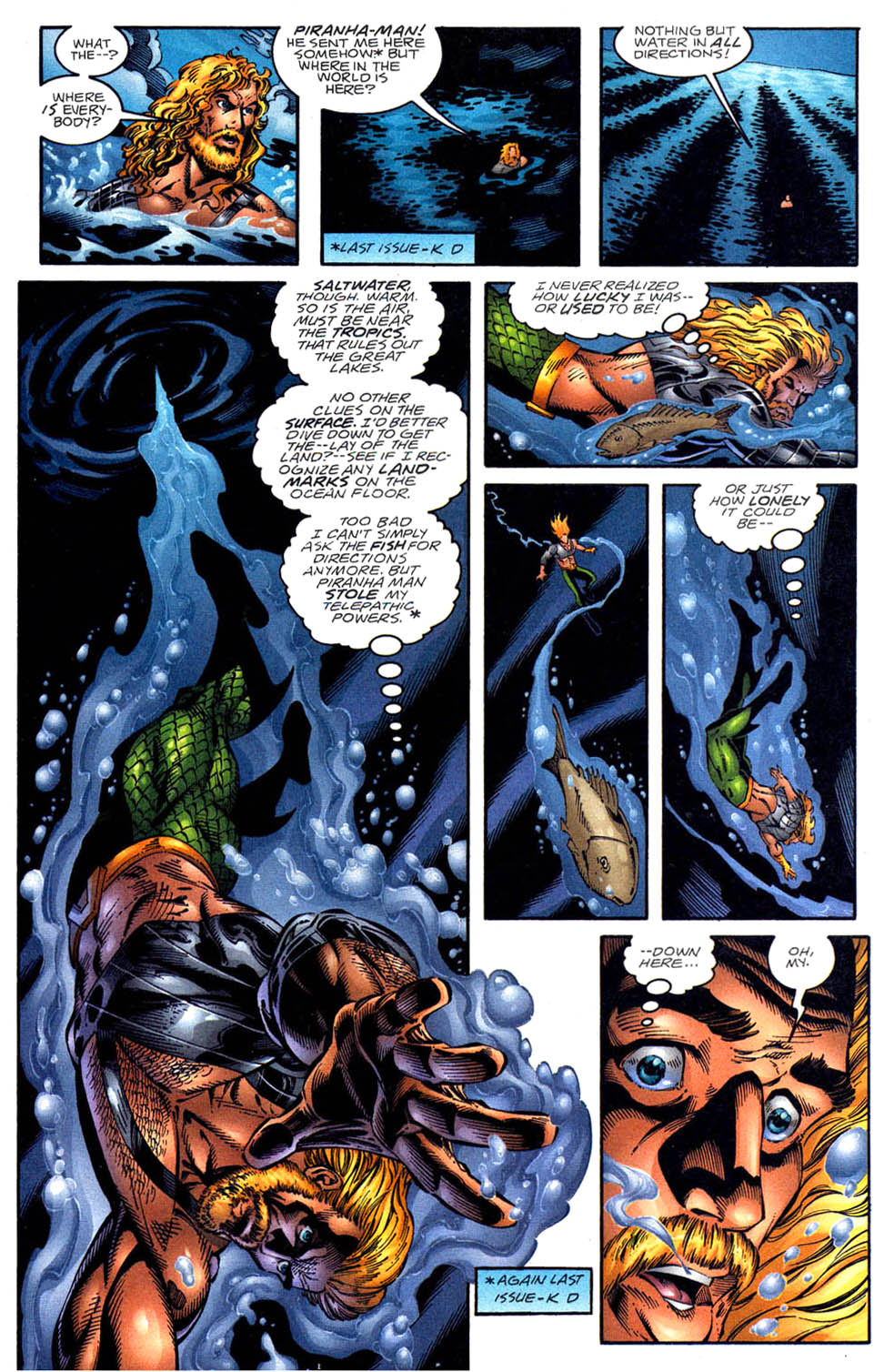 Read online Aquaman (1994) comic -  Issue #58 - 2