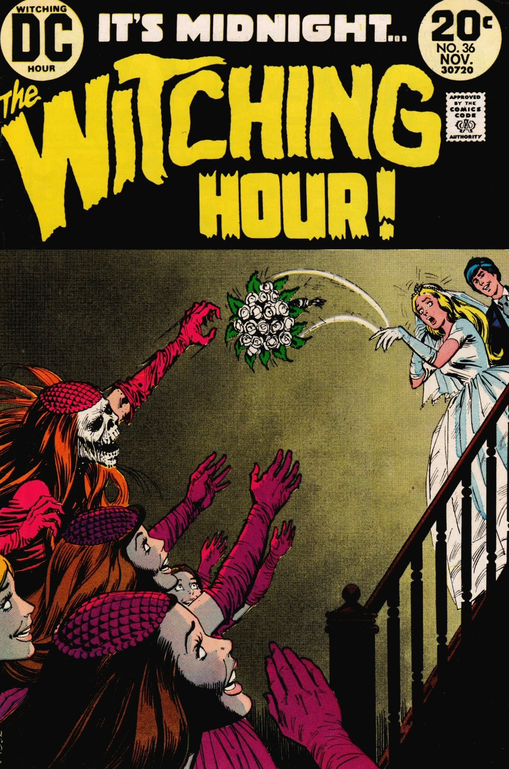 The Witching Hour (1969) issue 36 - Page 1
