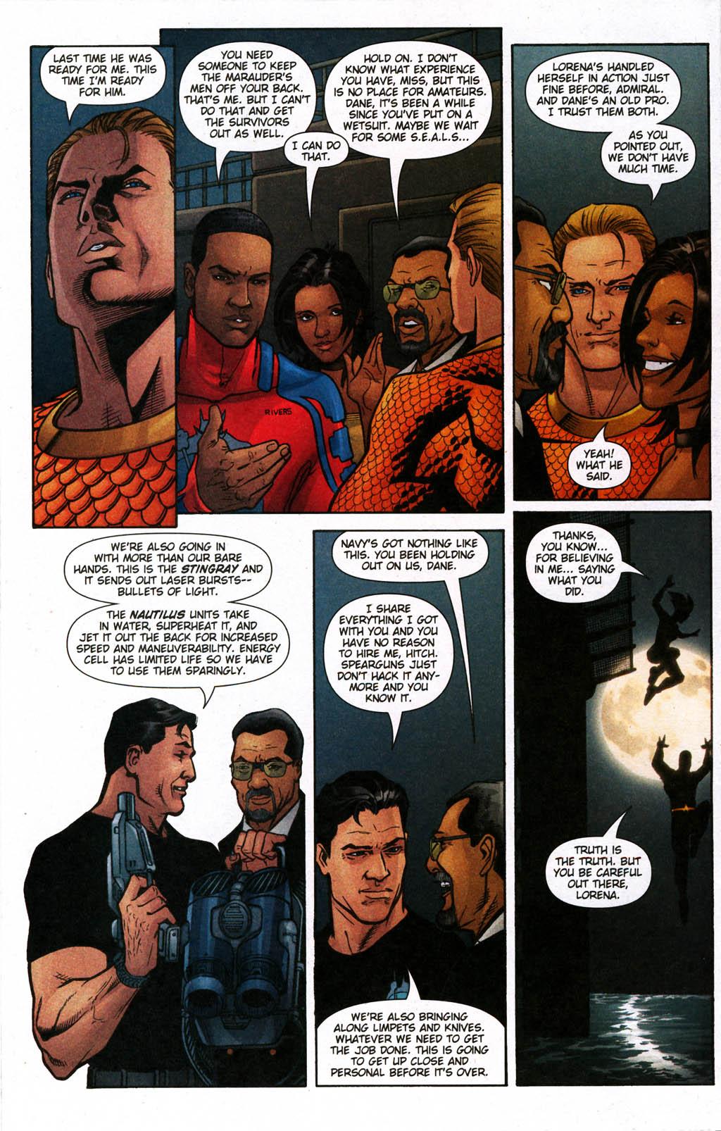Read online Aquaman (2003) comic -  Issue #24 - 14