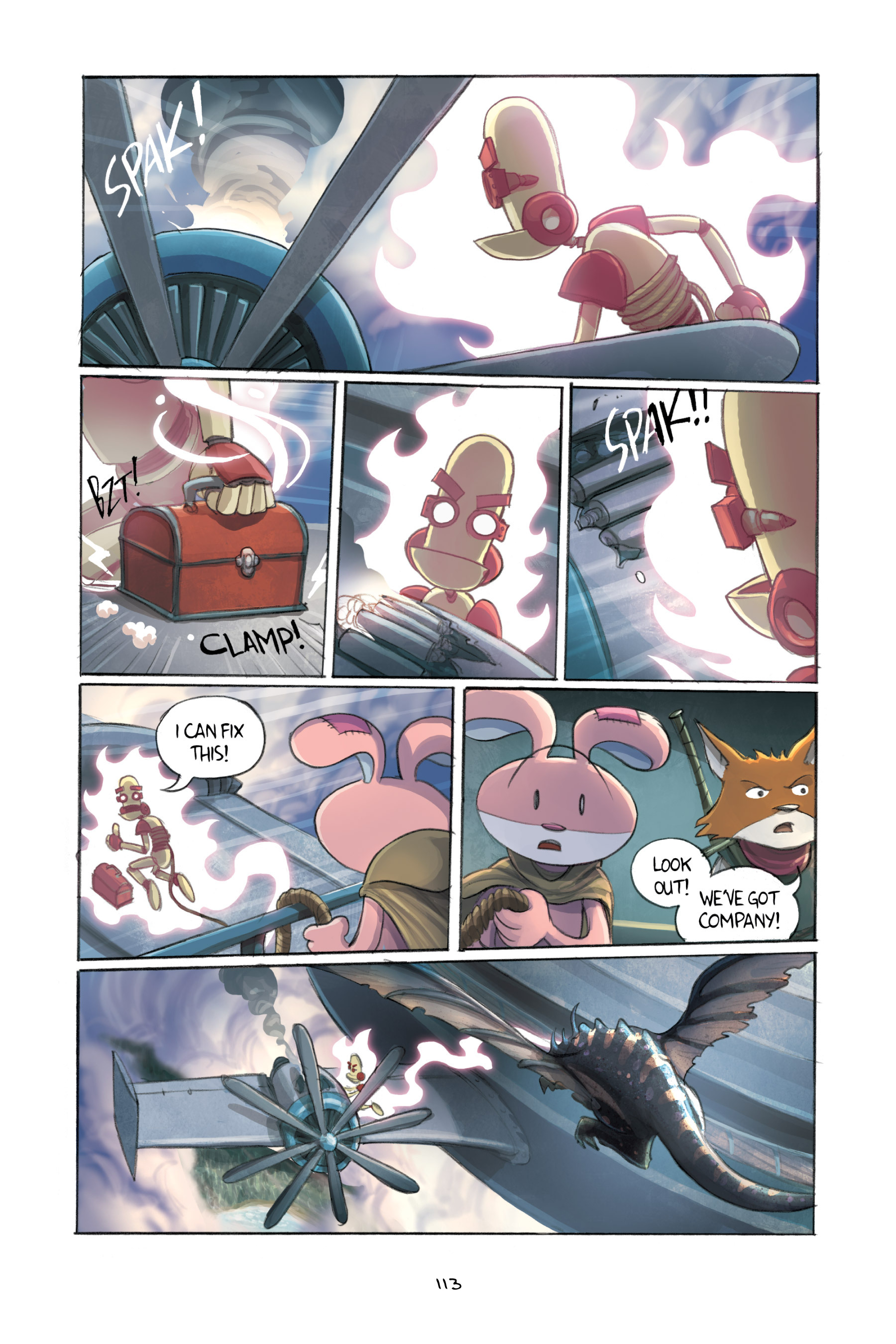 Read online Amulet comic -  Issue #3 - 111