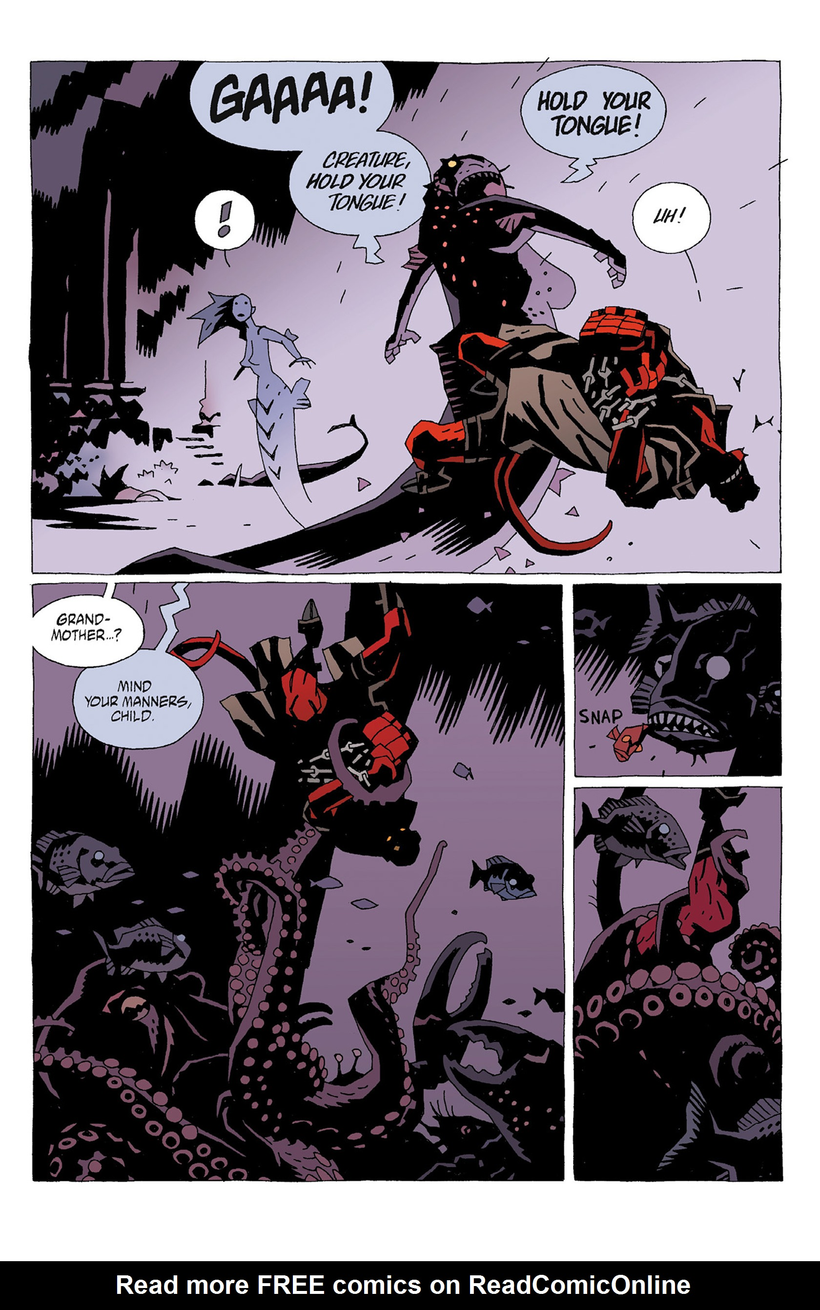 Read online Hellboy: Strange Places comic -  Issue # TPB - 33