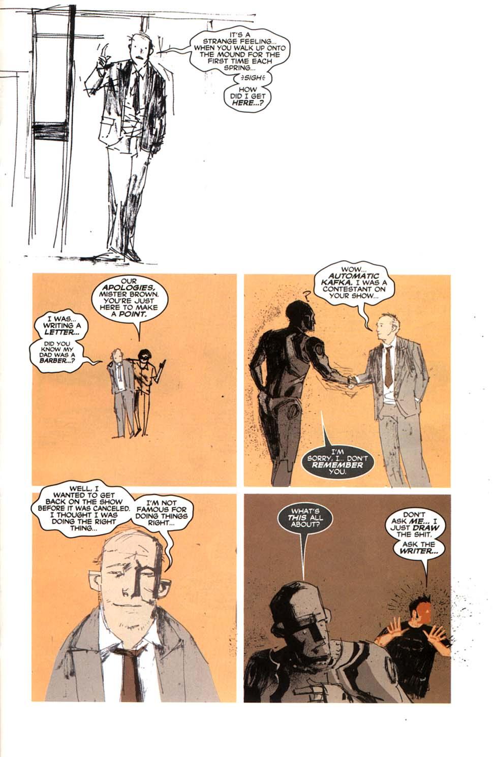 Read online Automatic Kafka comic -  Issue #9 - 19