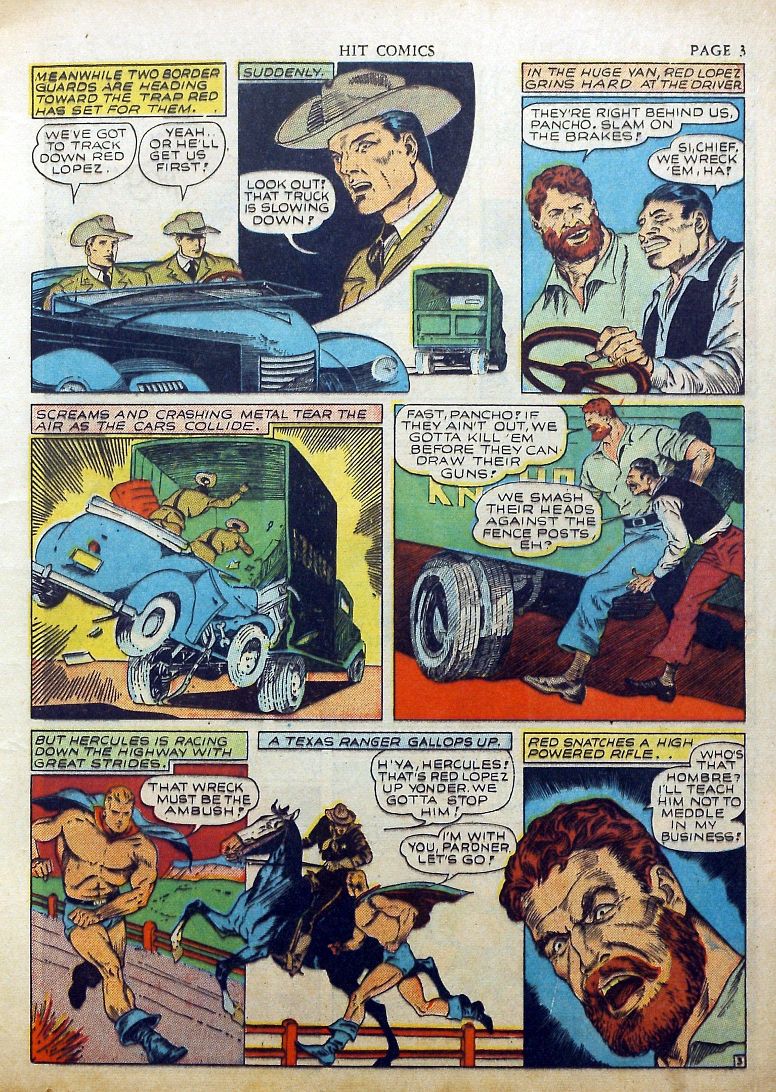 Read online Hit Comics comic -  Issue #17 - 5