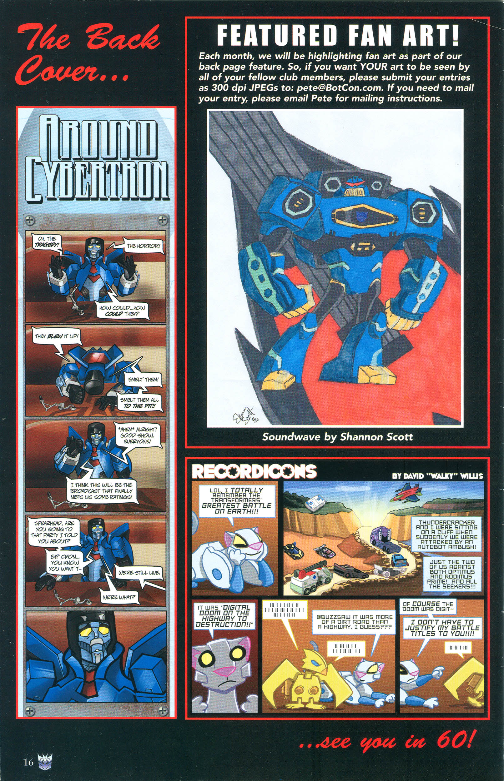 Read online Transformers: Collectors' Club comic -  Issue #36 - 16