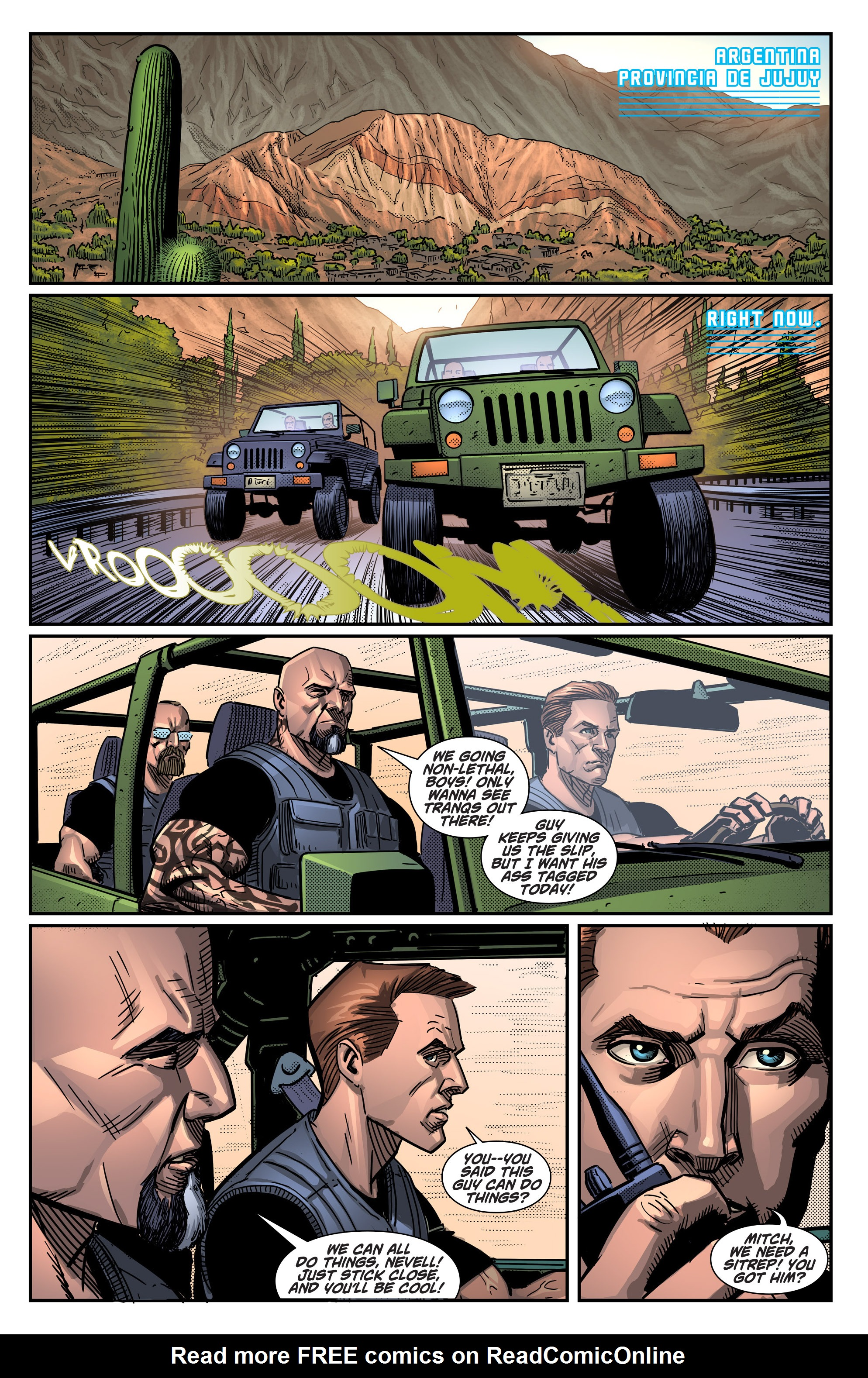 Read online Noble comic -  Issue #1 - 6