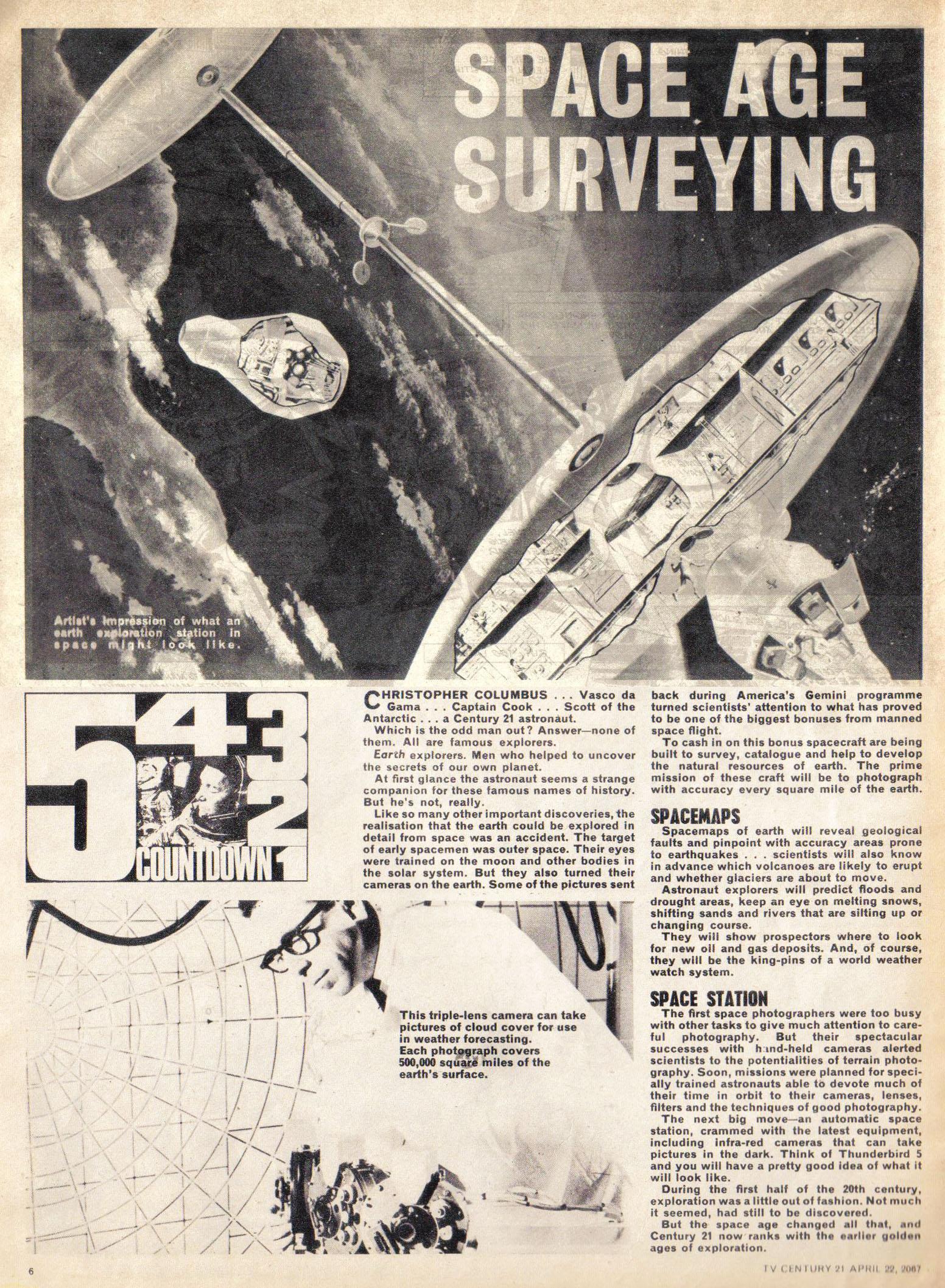 Read online TV Century 21 (TV 21) comic -  Issue #118 - 6