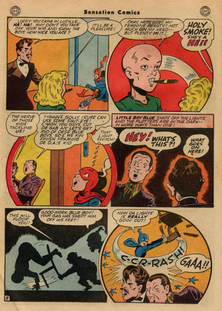 Read online Sensation (Mystery) Comics comic -  Issue #49 - 20