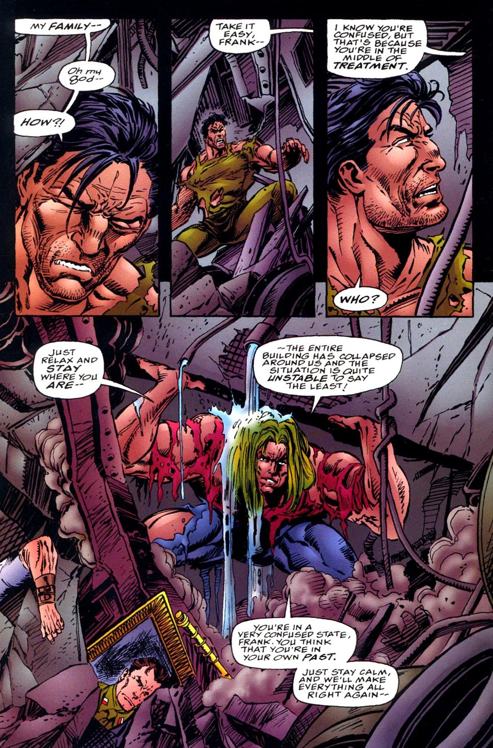 Read online Double Edge comic -  Issue # Issue Alpha - 28